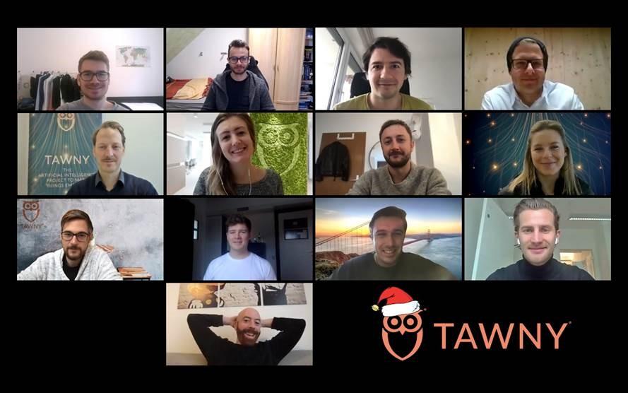 Team TAWNY in December 2020